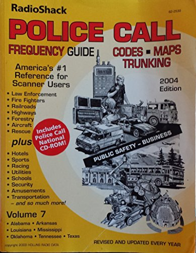 radio-shack-police-call-frequency-guide-codes-maps-trunking-2004-edition-vol-7