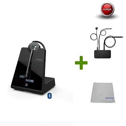 Avaya Compatible Jabra Engage 75 Wireless Headset Bundle EHS