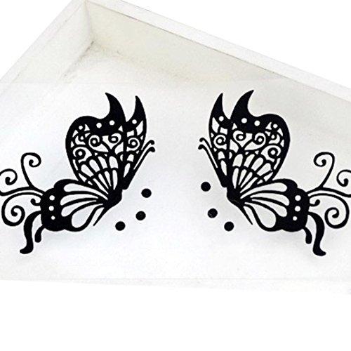 Kinghard Halloween Eye Stickers Butterfly (A)