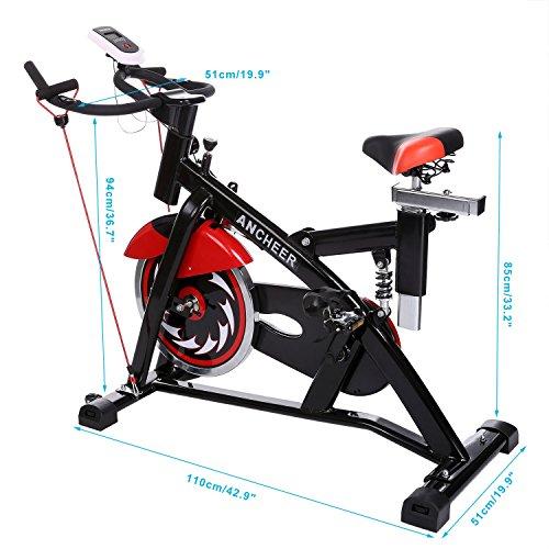 Ancheer Indoor Cycling Bike Sp 4013 Ultra Quiet Fitness