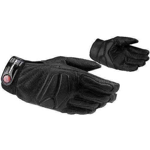 Alpinestars Stella SPS Women's Leather Street Motorcycle Gloves - Black / Small