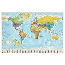 World Map Best Seller Poster Print, 36x24