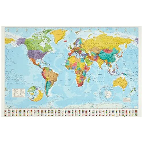 World Map Flag Amazoncom - Amazon us map