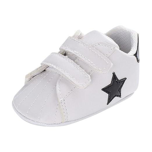 d1f0b66d5e4fe Amazon.com: WARMSHOP Toddler Boys Girls Star Print Soft Sole Anti ...
