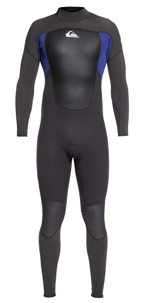 (Medium, Jet Black/Nite Blue) - Quiksilver Mens 3/2Mm Prologue - Back Zip Wetsuit   B07F8WDFXQ