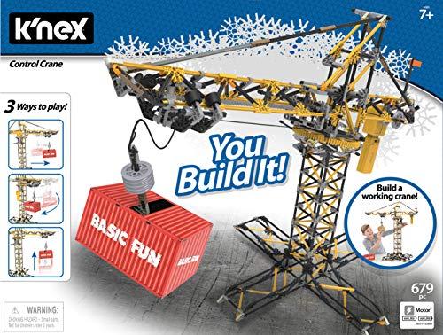 K'nex Control Crane Building Set - 679 Parts - Working Motorized Crane - Ages 7 & Up from K'nex