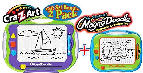 cra-z-art-original-magna-doodle-drawing-toy-original-magna-doodle-travel-doodle-gift-set-bundle-2-pa