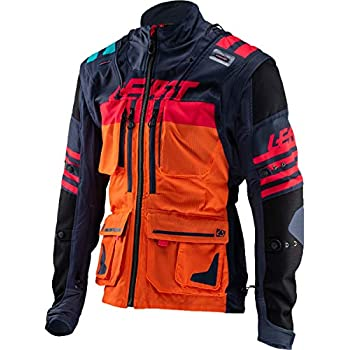 Leatt GPX 5.5 Enduro Riding Jacket-Ink/Orange-XL