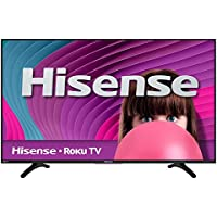 Hisense 32H4C 32 Smart LED HDTV with WiFi and Built-In Roku (Certified Refurbished)