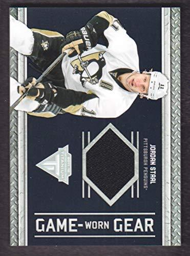 - 2011-12 Panini Titanium Game Worn Gear Jersey #61 Jordan Staal Penguins