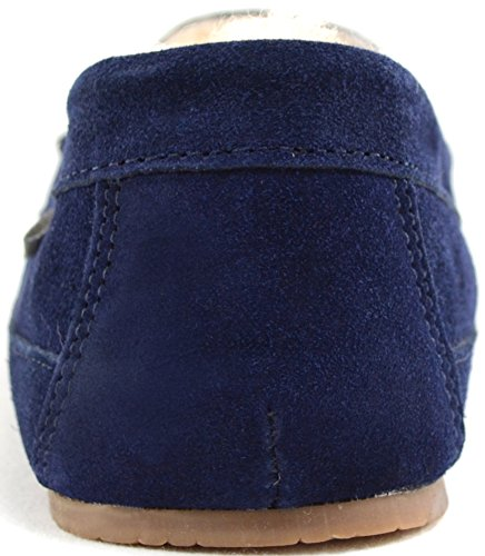 SNUGRUGS Men's Samuel Sheepskin Low-Top Slippers Navy huge surprise cheap price cheap sale official site 37zr1