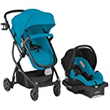 Urbini Car Seat Best Deals - Omni Plus Travel System, Lightweight Multi-Position Reclining Infant Car Seat & Stroller for up to 50lbs (Teal)