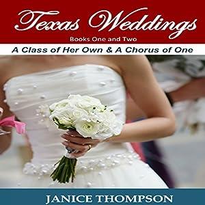 Texas Weddings: Books 1-2 Audiobook