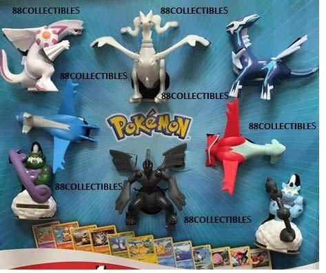 McDonald's 2018 Pokemon - Complete Set