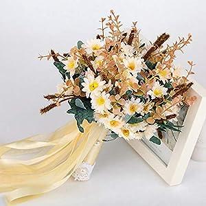 Balalei Bouquet De Mariage Artificial Wedding Flowers Wedding Bouquet for Brides Outside Wedding Brooch Bridal Bouquets 35