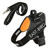 East-Bird No Pull Dog Harness, Breathable Adjustable, Free Leash is Included Small Medium