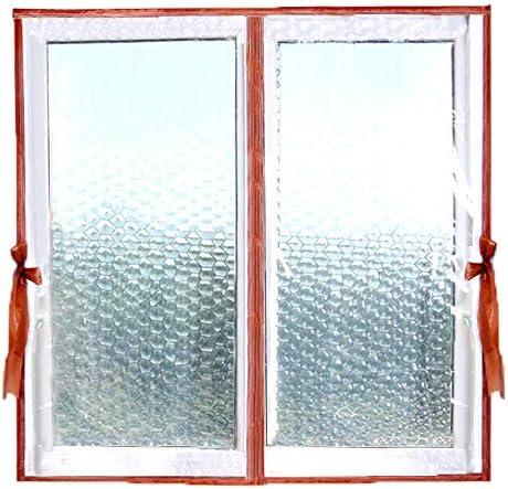 冬の防風暖かいカーテン、隔離された密閉窓、空調カーテン、寝室暖かいカーテン、防水と防塵、EVAプラスチックフィルム