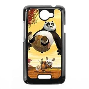HTC One X Cell Phone Case Black Kung Fu Panda Gvqyd