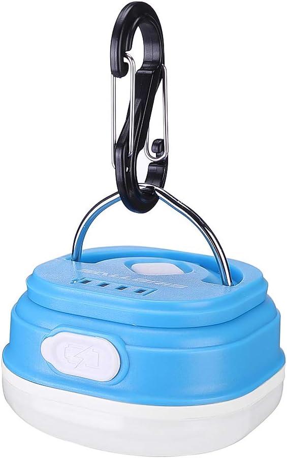 Portable DEL Camping Lanterne avec Ventilateur de plafond-énergie solaire et Rechargeable USB A1O4