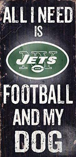 Fan Creations N0640 New York Jets Football And My Dog Sign (Jets Football Stuff compare prices)