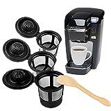 ONEVER 3PCS Coffee Filter for Keurig B31, B40, B44, B60, B50, B66, B70, B77, B200, B140, B145, Breville Kcup, Mr. Coffee Kcup, Cuisinart Kcup