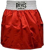Cleto Reyes Women's Satin Boxing Skirt Trunks - Red/W