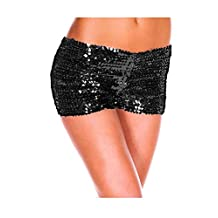 Women's Sequins Hot Short Pants