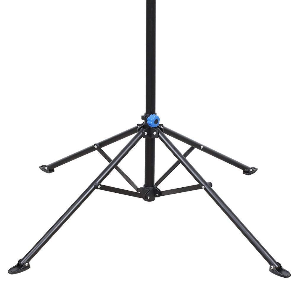 Bike Repair Stand Rack Foldable Cycle Bicycle Workstand Home Pro Mechanic Maintenance Tool Adjustable 41'' To 75'' With Telescopic Arm Clamp Lightweight and Portable by Noa Store (Image #2)