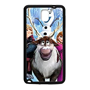 Frozen Disney Film Black Samsung Galaxy Note3 case
