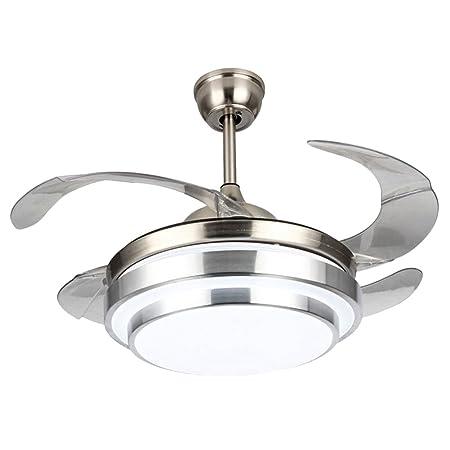 24425bdb9d4 WHYIN 42   Modern Ceiling Fan Light with LED Light for Dining Room Fan  Chandelier
