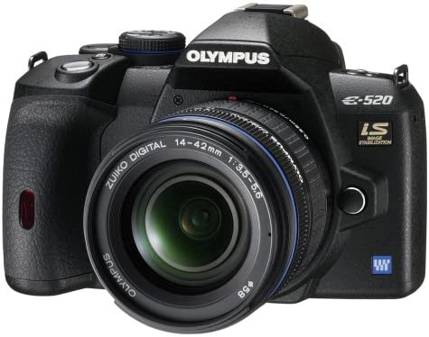 Olympus E-520 - Cámara réflex Digital 10 MP (Objetivo 14-42 mm y ...