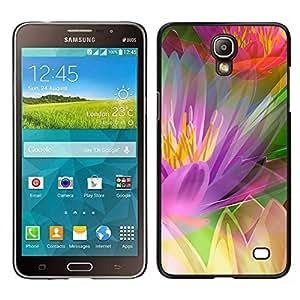 Rainbow Vegetación - Metal de aluminio y de plástico duro Caja del teléfono - Negro - Samsung Galaxy Mega 2