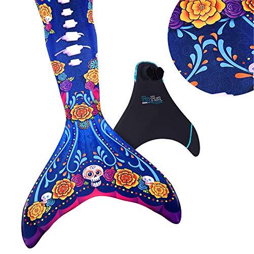 Fin Fun Mermaid Tail, Reinforced Tips, Monofin, Sea Spirits,