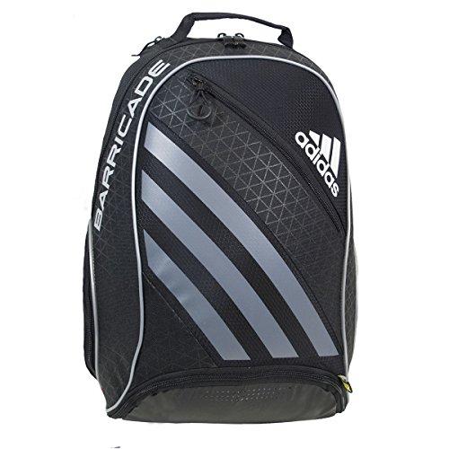 adidas Barricade IV Tennis Backpack, Black/Dark Silver, One Size