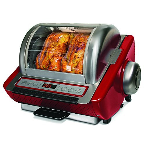 Ronco ST5250RDGEN Store Rotisserie Oven, Red by Ronco
