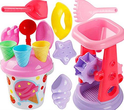 Kid's Beach Sand Toys Baths Pools Set 14PCS by Blancho Bedding