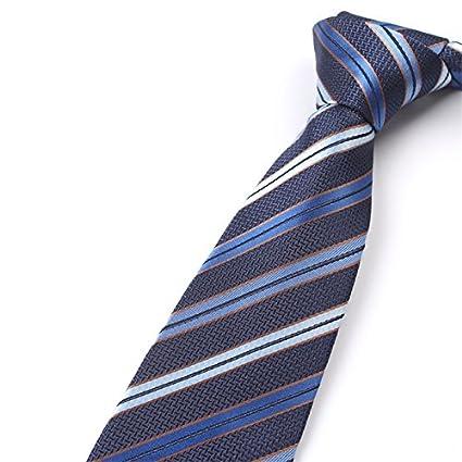WUNDEPYTIE Corbata de Lazo a Rayas, Dark Blue}: Amazon.es: Coche y ...