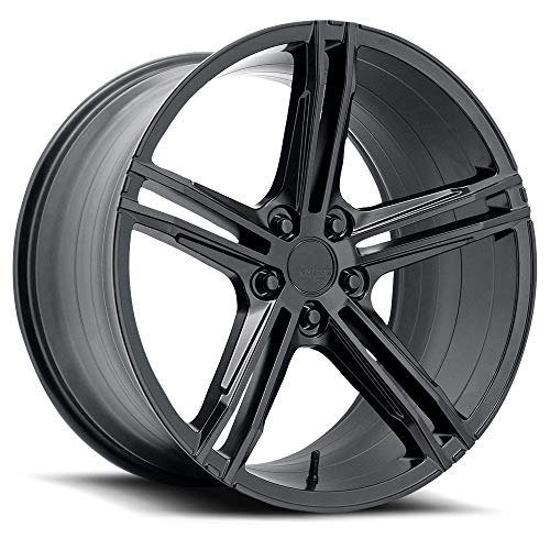 Verde Form Vff03 19X8.5 +45Mm Satin Black 5X112 66.56Mm Bore 154Mm M.Pad Front Face Wheel (19 x 8.5 inches /5 x 112 mm, 45 mm Offset)