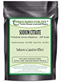 Sodium Citrate - TriSodium Citrate Dihydrate - USP Food Grade Fine Granular, 55 lb