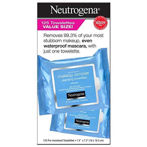 Neutrogena Make Up Remover Facial Wipes (125 CT) - Neutrogena Makeup Remover Cleansing Towelettes