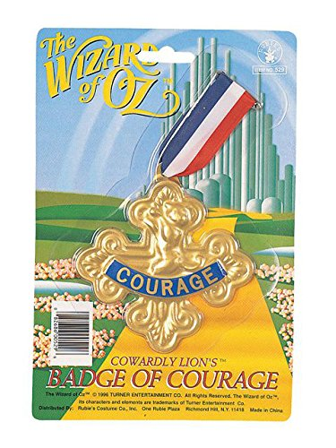 - Wizard of Oz Cowardly Lion-Badge of Courage, 75th Anniversary Edition