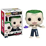 DC Comics Suicide Squad The Joker Shirtless Funko Pop! Vinyl Figure Click to view larger image Details about DC Comics Suicide Squad The Joker Shirtless Funko Pop! Vinyl Figure