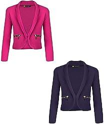 LOTMART Kids Checked Print Detail Inner Fleece Jacket or Trousers