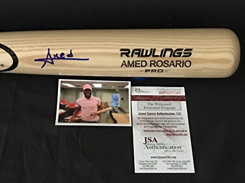 Amed Rosario New York Mets Autographed Signed