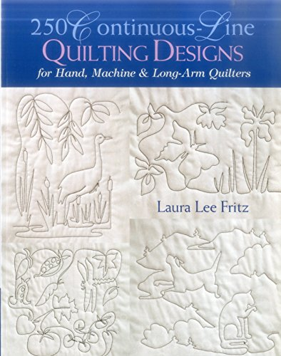 Long Arm Quilting Patterns - 250 Continuous-Line Quilting Designs