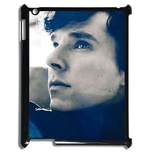 C-EUR Cover Case Benedict Cumberbatch customized Hard Plastic case For IPad 2,3,4