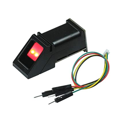 FlashTree FPM10A Optical Fingerprint Reader Module TTL Serial Red Light for  Arduino UNO R3 Mega 2560 STM32 4pins