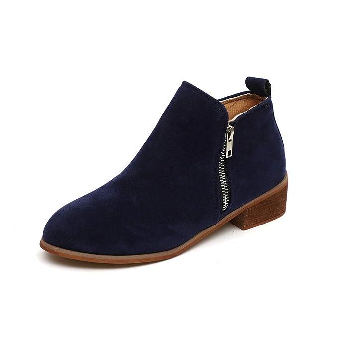 POLPqeD Zapatos Mujer otoño 2018 Botines Mujer Invierno Zapatos y Botas otoño 2018 Botines Comodos Invierno