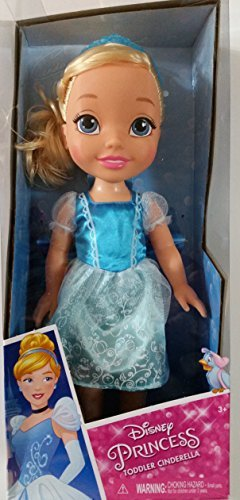 Disney Princess Toddler Cinderella with Ball Dress , Tiara & Shoes (Disney Dills)