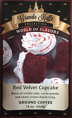 Grande Kaffe Ground Coffee (Red Velvet (Coffee Cupcake)